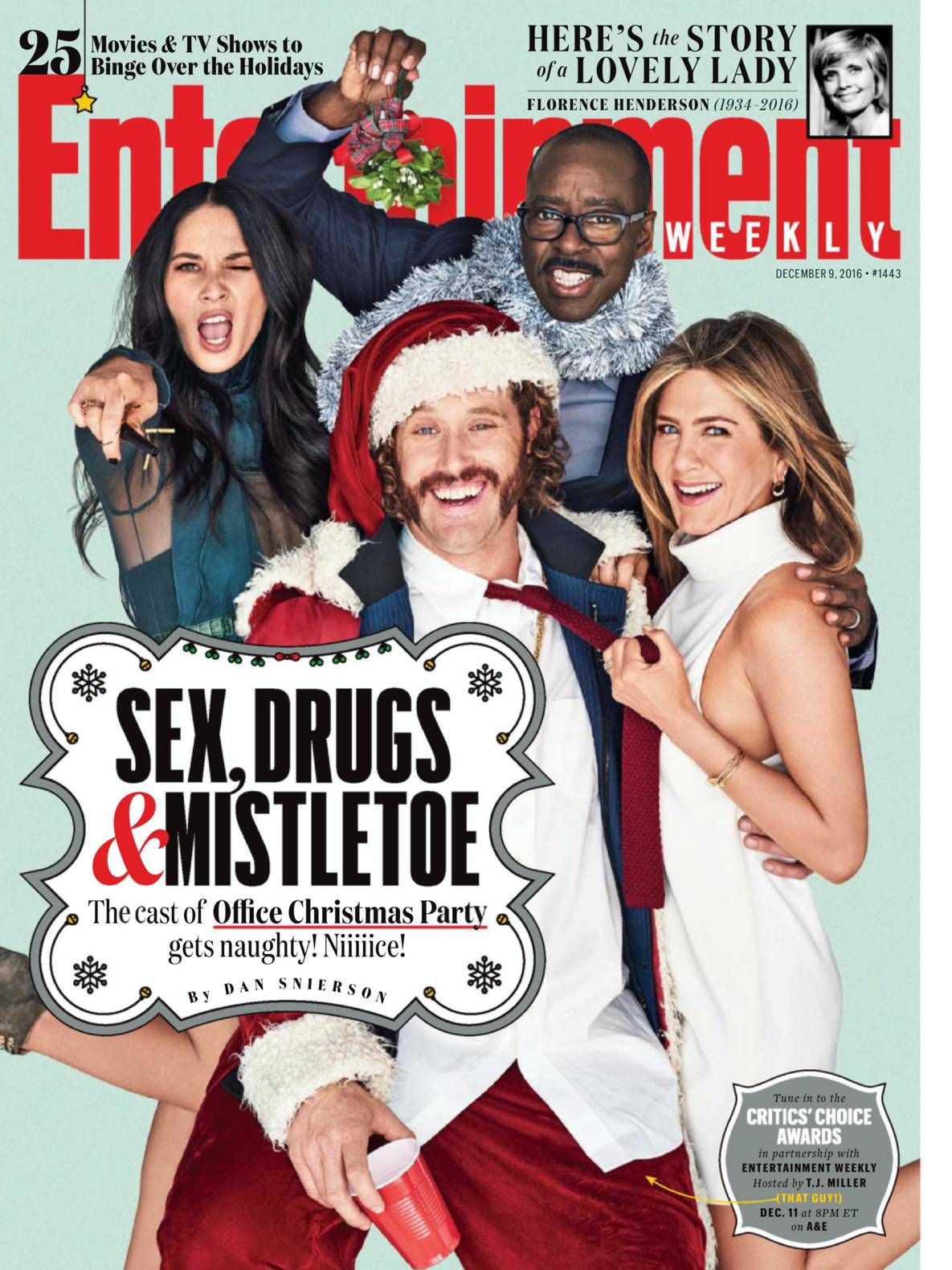 Free Download Entertainment Weekly #Magazine - December 9,2016. In ...