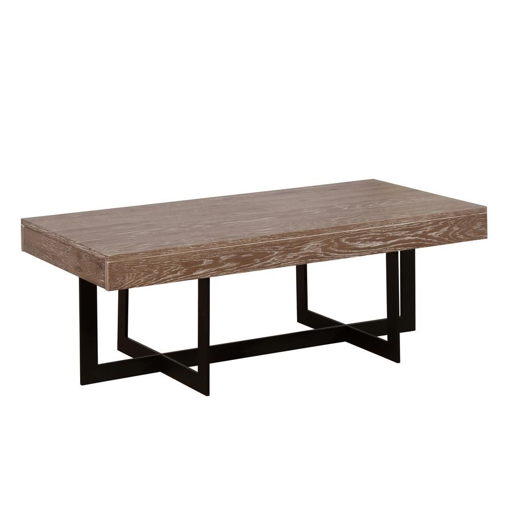 Furniture Of America Celeste 48 In Gray Wash Sand Black Large Rectangle Wood Coffee Table With Drawers Idf 4619c The Home Depot Coffee Table Grey Rectangle Coffee Table Wood Coffee Table Wood [ 1000 x 1000 Pixel ]