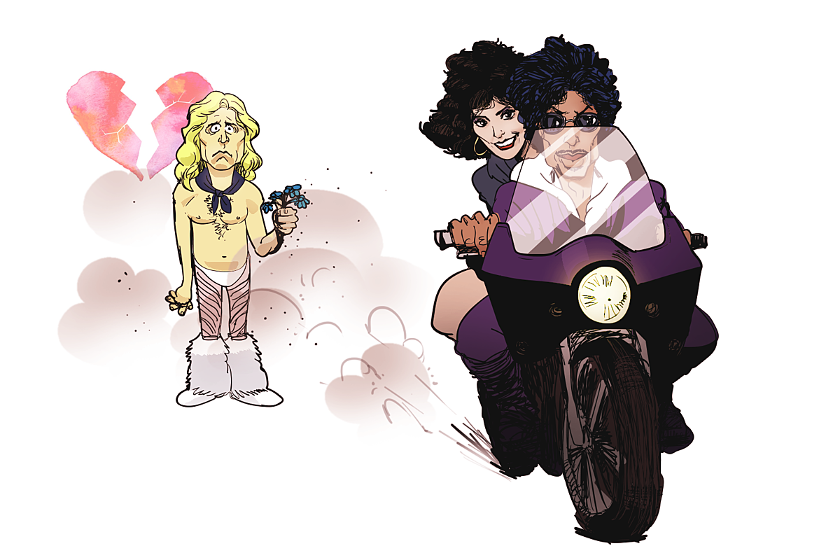 How Prince Convinced Apollonia To Stop Dating David Lee Roth David Lee Roth David Lee Prince
