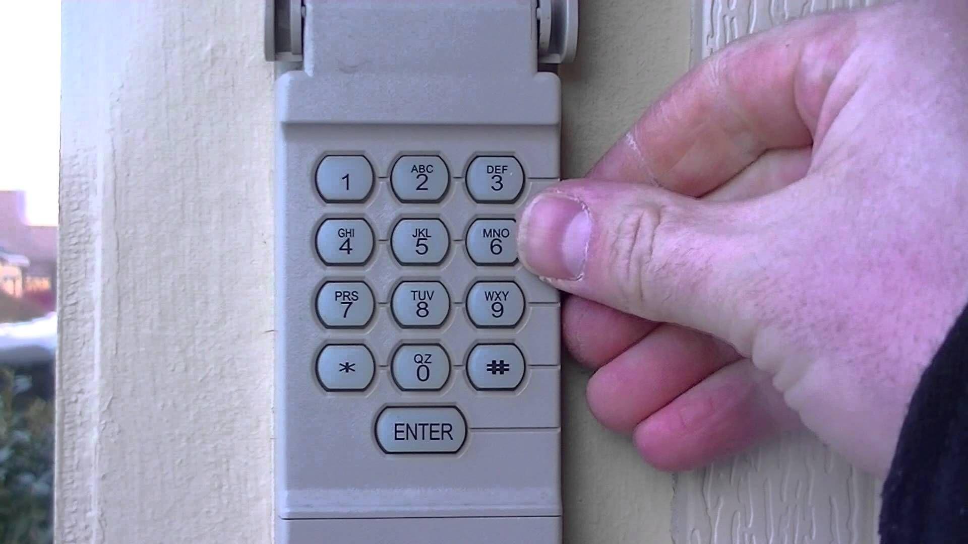 How to reset your garage door keypad pin number Garage
