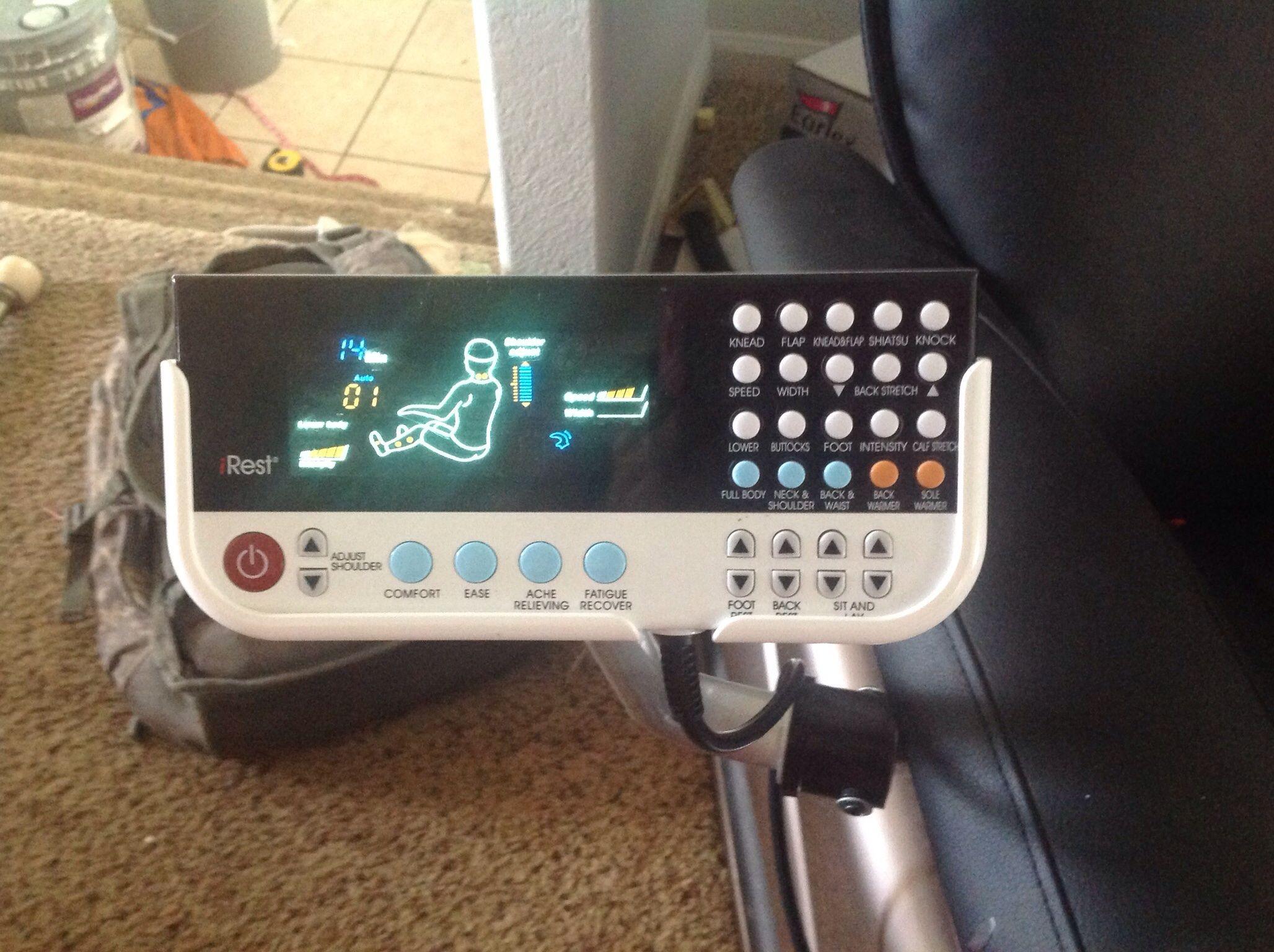 IREST Massage Chair In Wrightstuffu0027s Garage Sale In Cheyenne , WY For $500.  IREST Massage