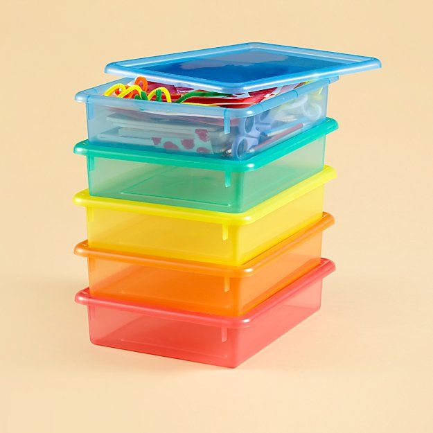 Clear Small Top Box. Craft StorageBox ...  sc 1 st  Pinterest & Clear Small Top Box | Storage containers Storage and Playrooms