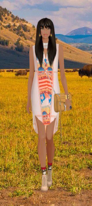 Covet Fashion Game Challenge Pocahontas Covet Fashions