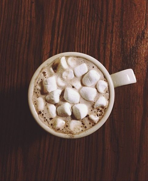 hot cup of cocoa.