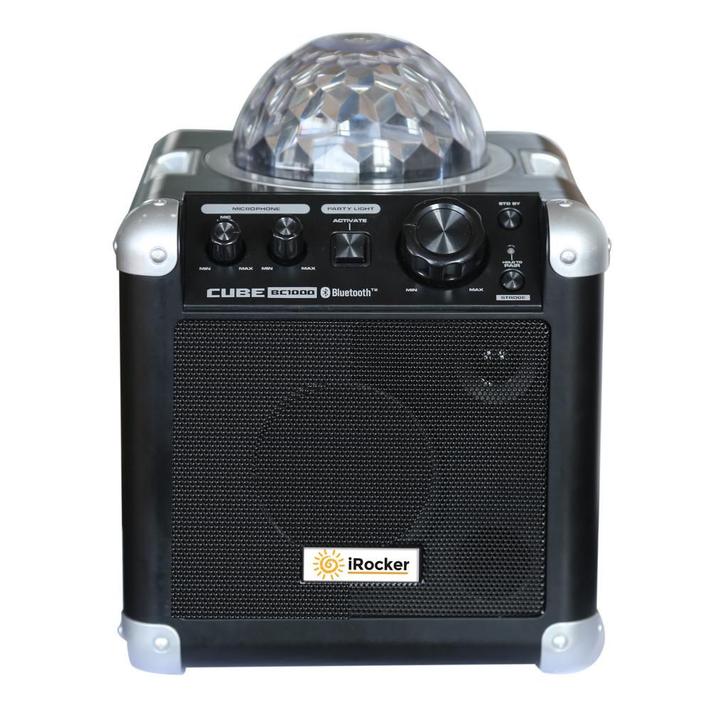 iRocker Portable Bluetooth Karaoke Machine-BC-1000 - The Home Depot