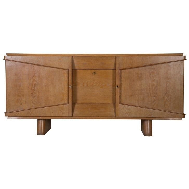 1940s limed oak buffet ref bu3410133 3 450 a 1940 s french limed oak enfilade of striking design this great quality and very useful sideboard has great