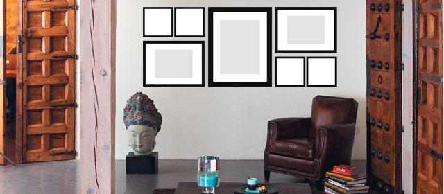 Disposition des cadres dans un rectangle