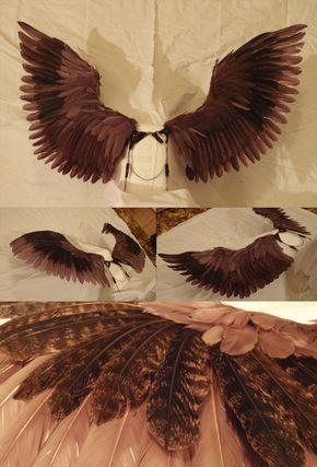 d60ffc3fe Cosplayer Makes Giant Mechanical Wings - YouTube | Halloween props | Cosplay  wings, Steampunk wings, Diy angel wings