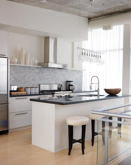 Best Photo Gallery 46 Modern Contemporary Kitchens Loft 400 x 300