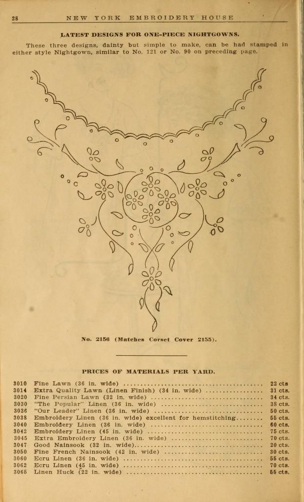 Embroidery hints: Fall and Winter 1910 | Embroidery | Pinterest ...