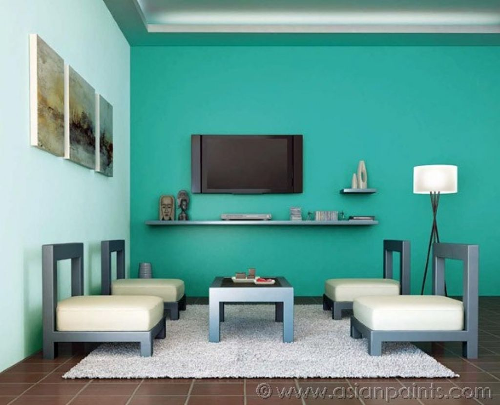 Best Wall Colour Design : Beautiful asian paints best colour combinations for living