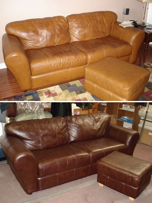 Leather Furniture Repair Service Refinishing Restoration Dyeing Cleaning