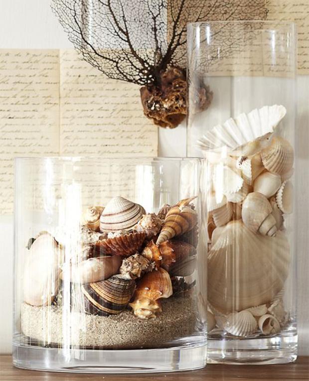 10 Ethereal Vases Interior Ideas Shell Decor Vases Decor
