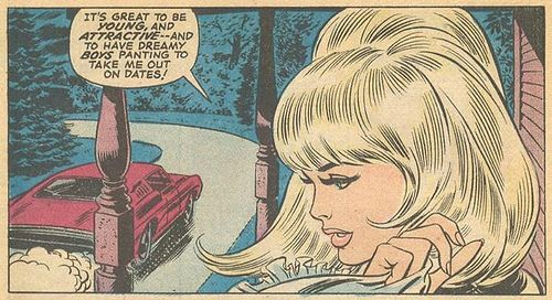 'The Man I Must Not Love!' 1970 - Art by Buscema & Romita