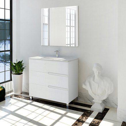 Muebles de lavabo pedestal Leroy Merlin | Muebles de ...