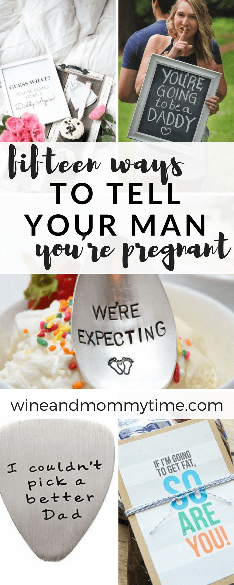 15 ways to tell your husband youre pregnant | Baby