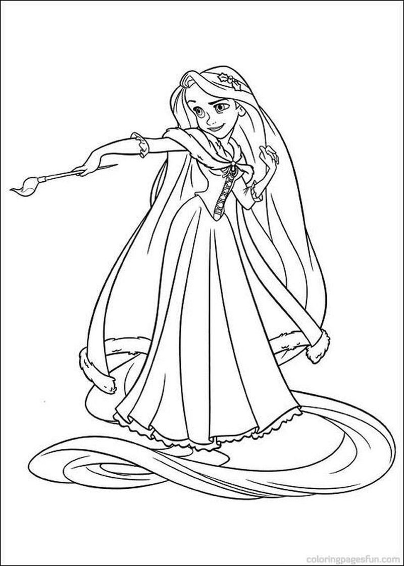 Rapunzel Coloring Pages Free Pdf In 2020 Rapunzel Coloring Pages Tangled Coloring Pages Princess Coloring Pages