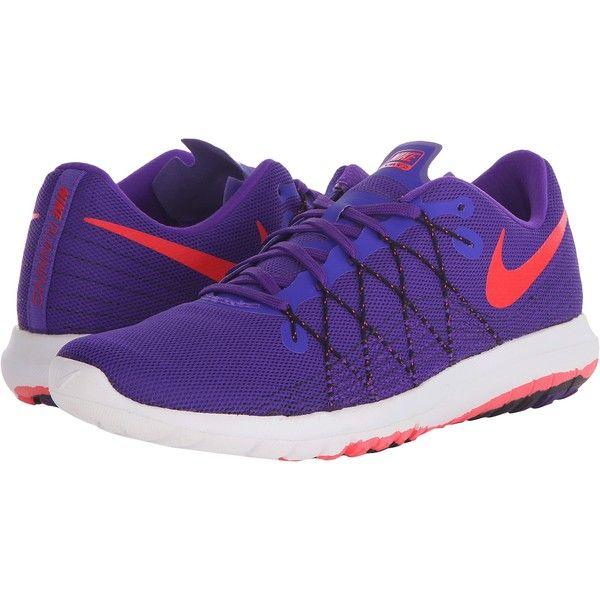 Womens Shoes Nike Flex Fury 2 Fierce Purple/Black/White/Bright Crimson