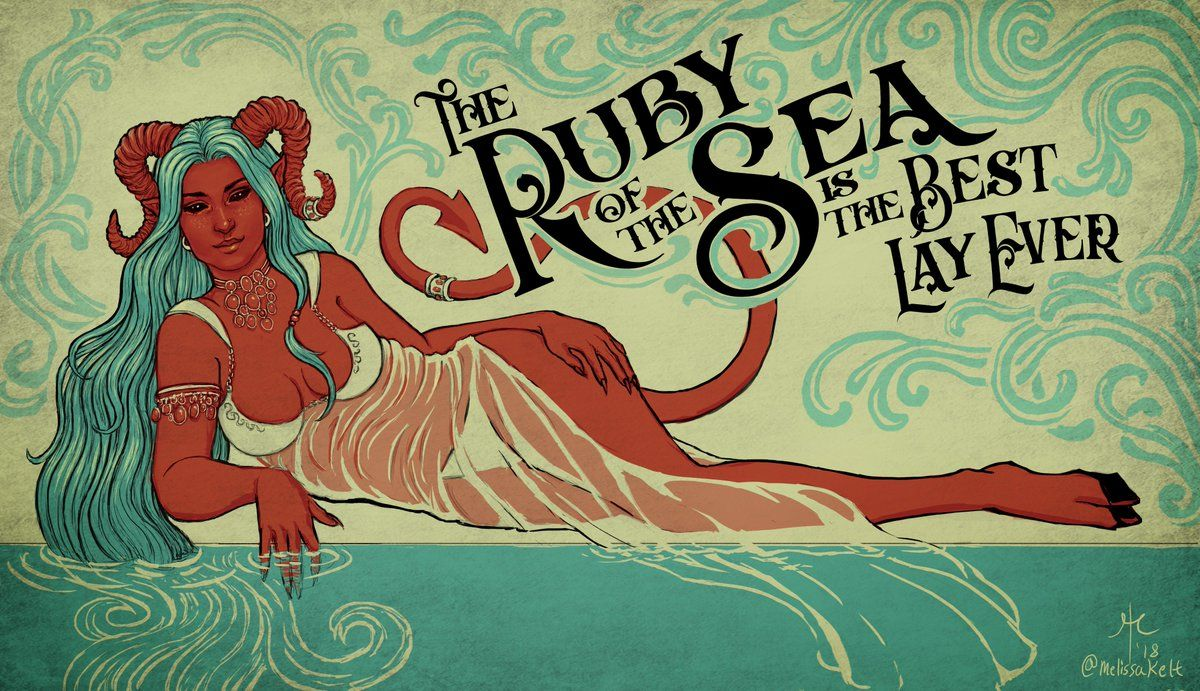 Image Result For Ruby Of The Sea Critical Role Critical Role Critical Role Campaign 2 Critical Role Fan Art