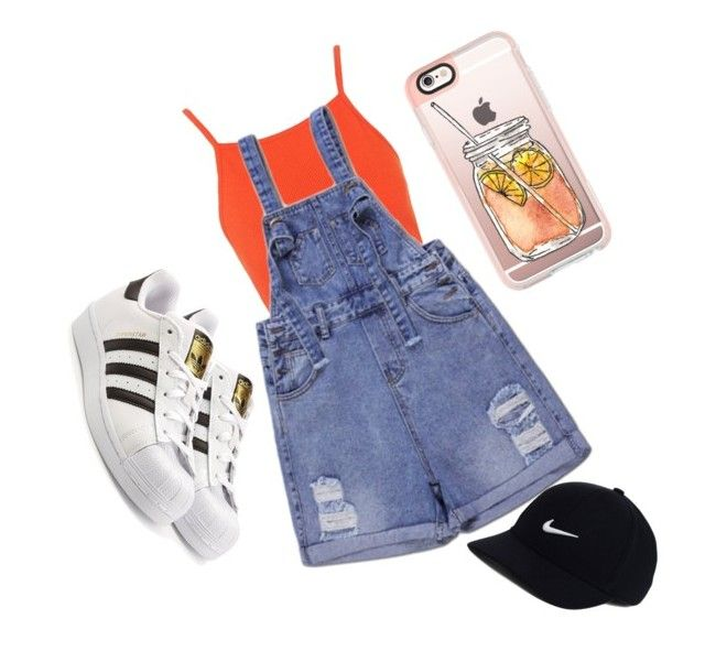 """Idk"" by heyitzshayy on Polyvore featuring Topshop, adidas Originals, Casetify and NIKE"