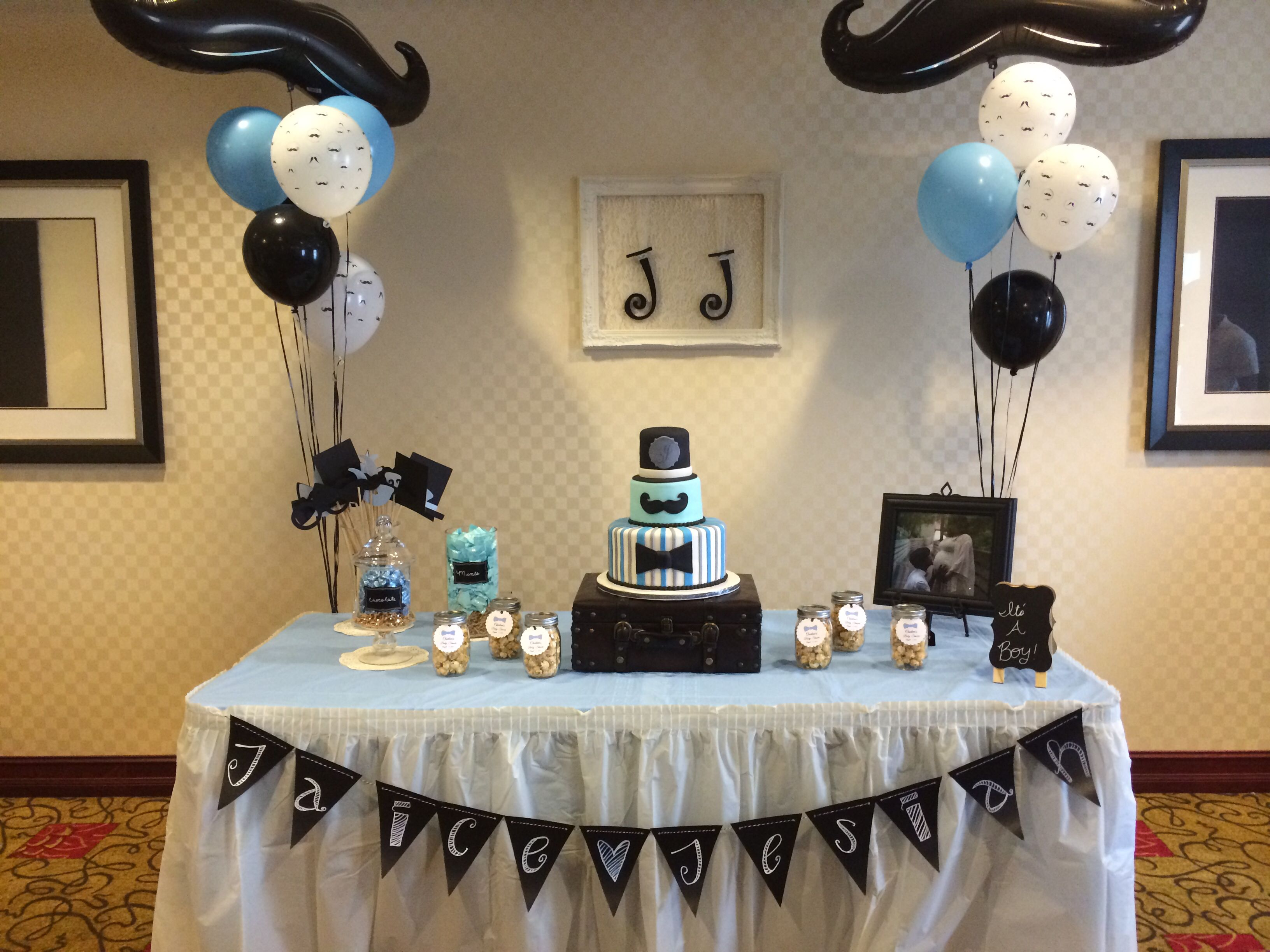 Little Gentlemen Baby Shower Fiesta De Bigote