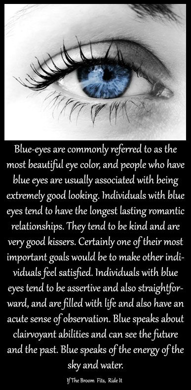 BLUE EYES | Eye Color Traits | Blue eye facts, Eye facts, Blue eyes