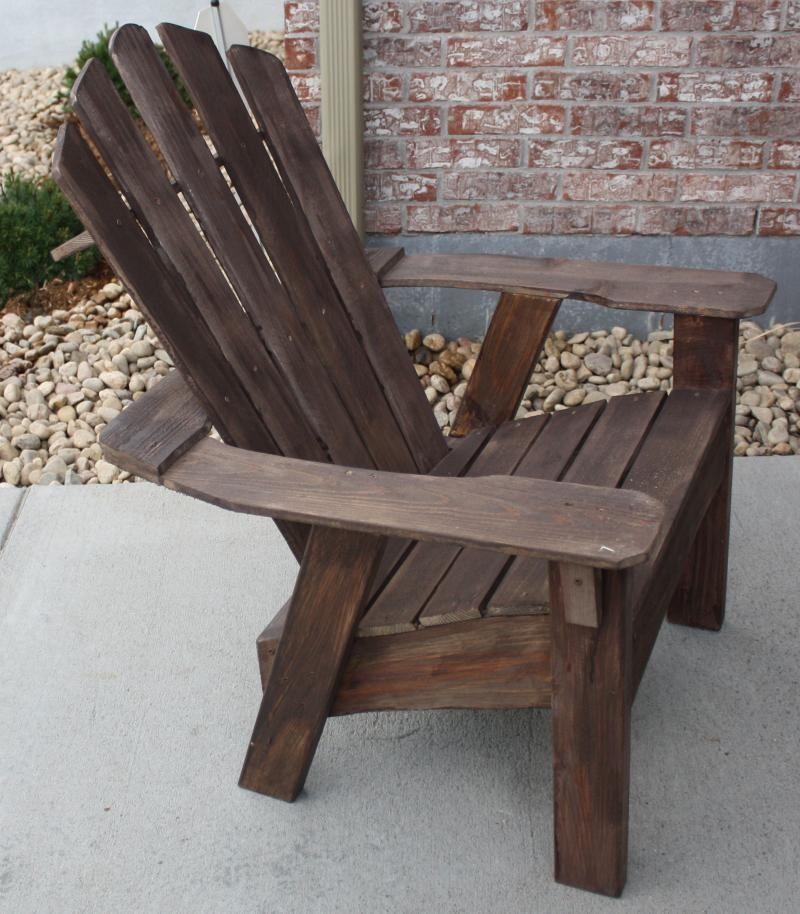 Painted Vs Stained Adirondack Chairs | Adirondack Furniture