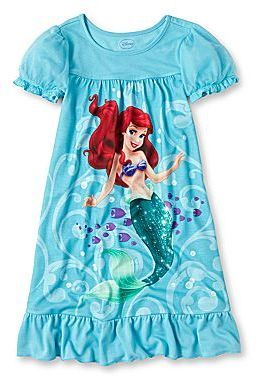 016e452ee6 Disney Ariel Nightgown- Girls 2-10