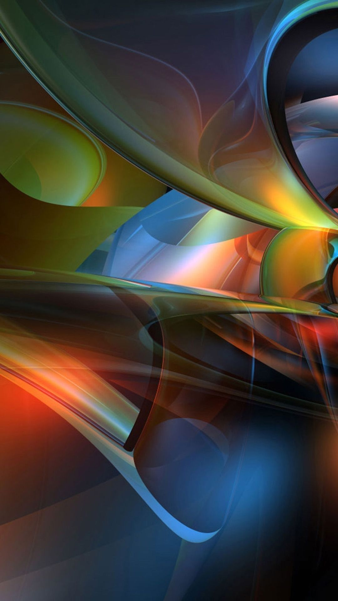 3d abstract mobile phone wallpaper 1080x1920 Black phone