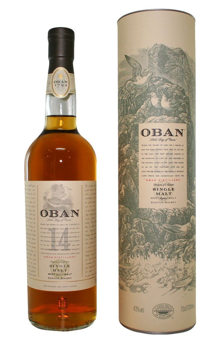 Oban 14 scotch