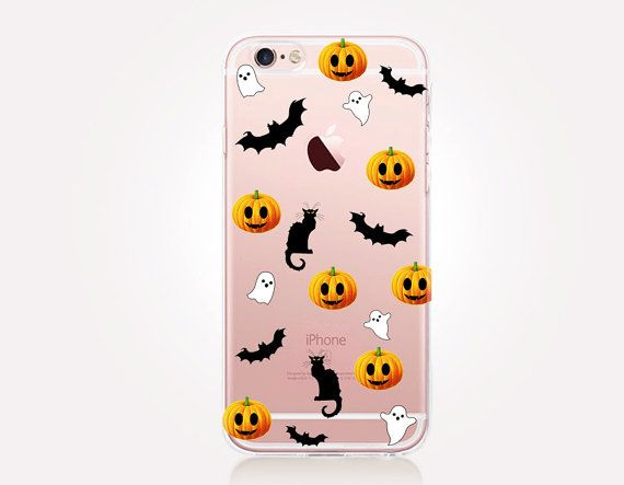 203c58629a Halloween Clear Phone Case-For iPhone 8 8 Plus X iPhone 7 ...