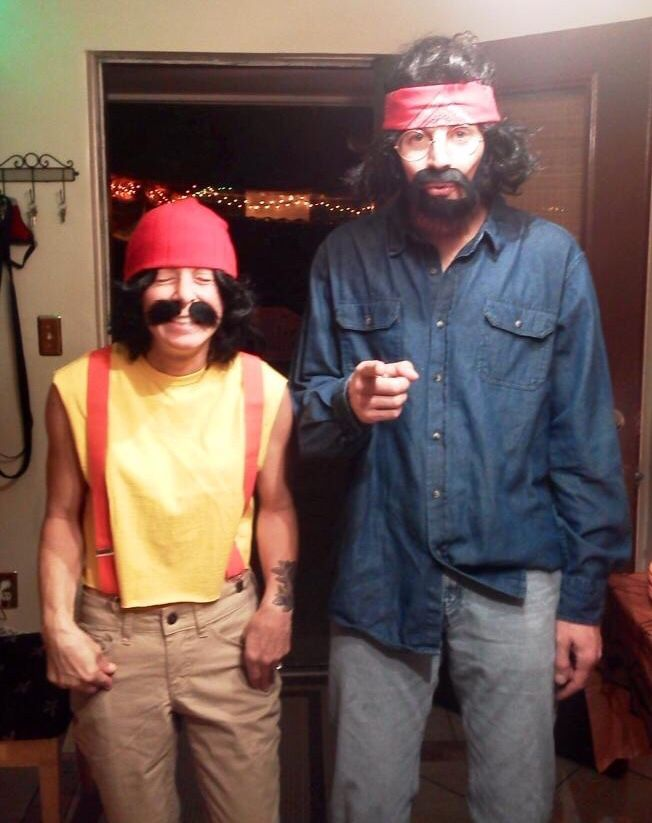 cheech chong couples costume
