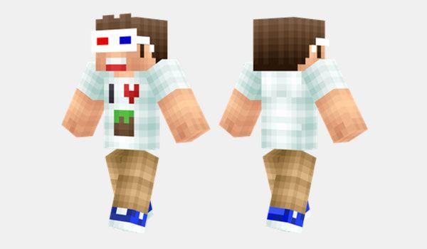 Minecraft Fan Skin Para Minecraft MIS COSAS Pinterest - Skins para minecraft pe 3d