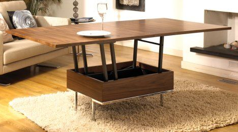 Convertible Coffee Dining Table I Did Actually Think Of This Just Couldn T