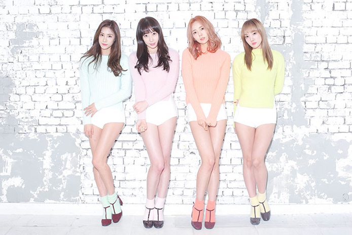 Stellar Thinks They Are Still Far From Success Kpop Girls Stage Outfits 2010s Fashion