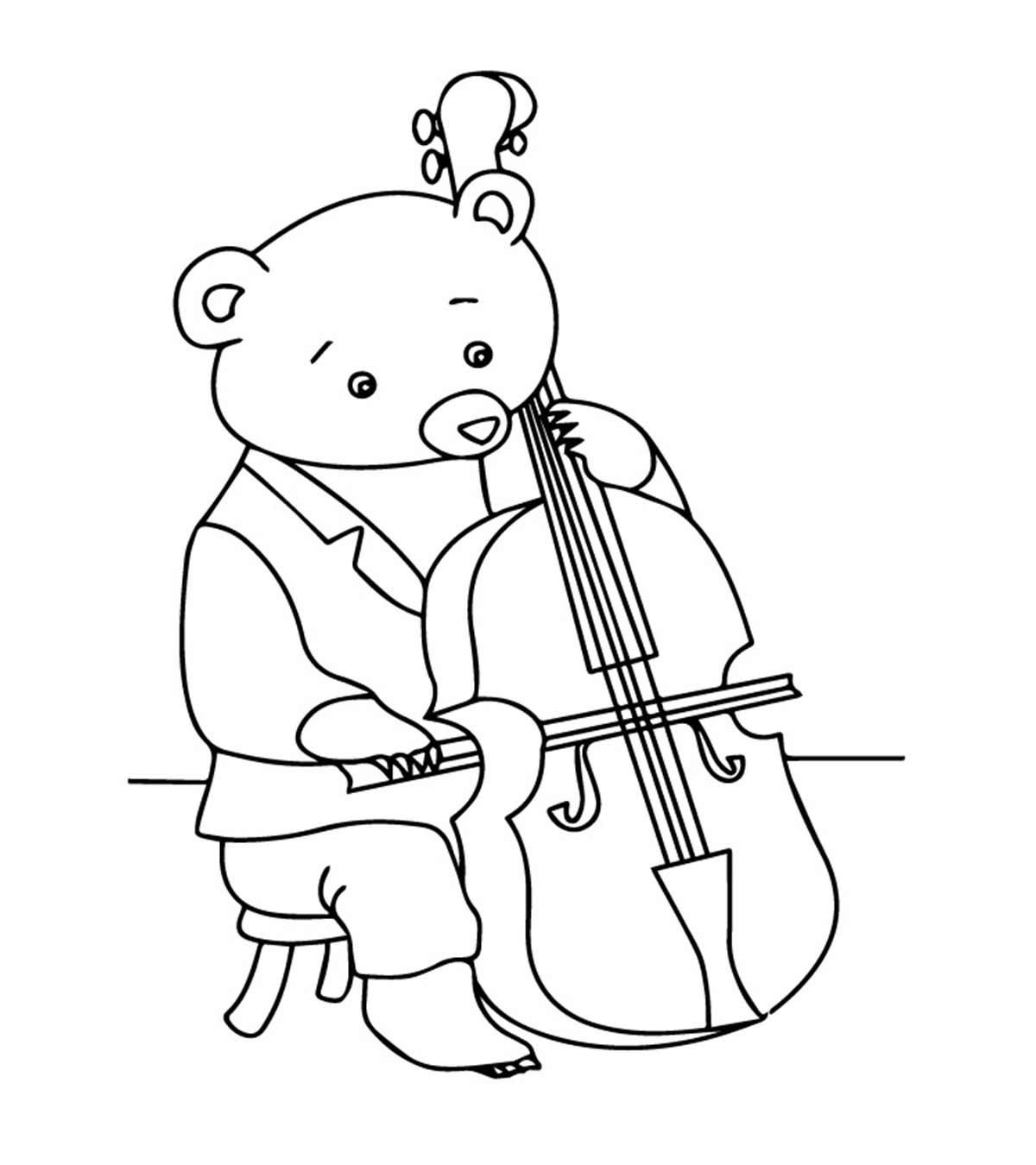 51 Coloring Page Violin Music Coloring Coloring Pages Music Coloring Sheets
