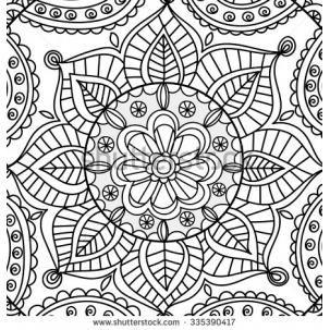 Coloring Doodles Mandalas Paint Doodle Zentangle