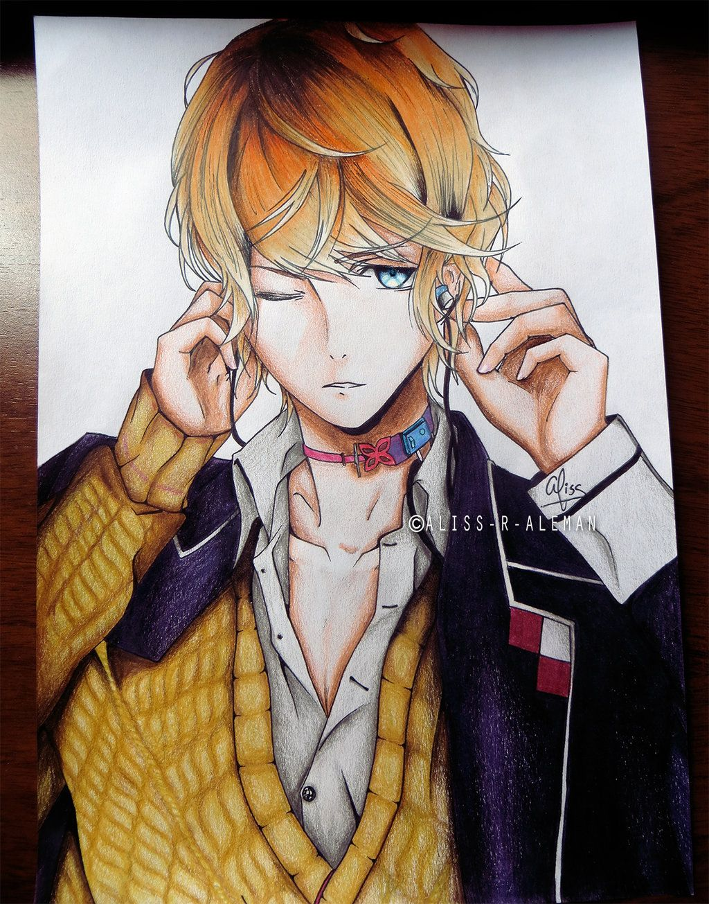 This guy is Kanato from Diabolik Lovers, an otome game by