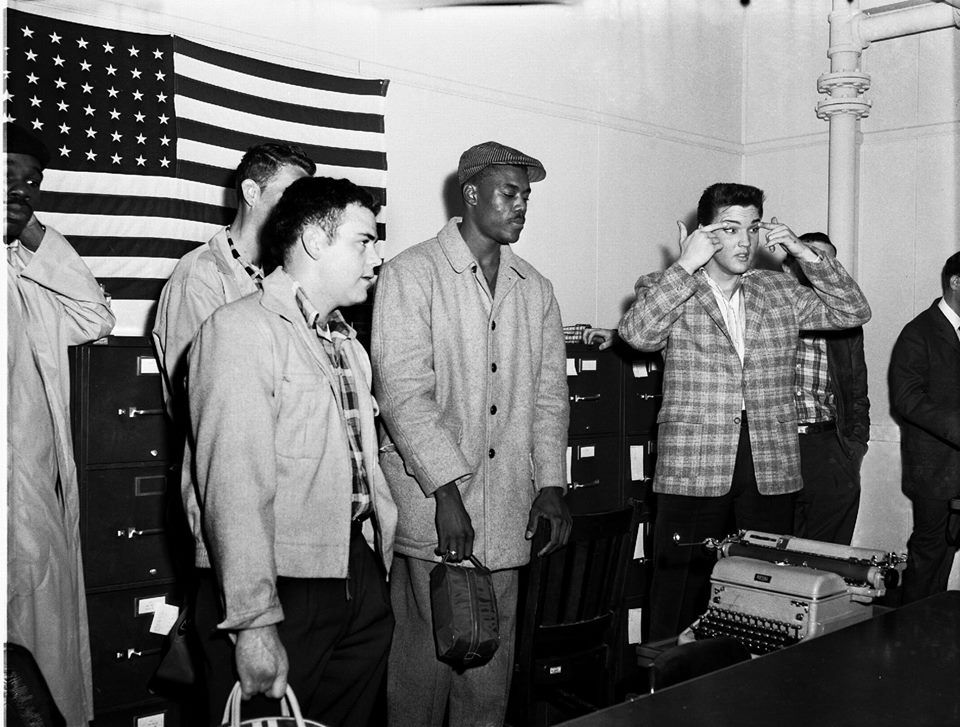 They thought they could stop him by putting him in the army didn't work, all the fans plus more were waiting for his release.Memphis on March 24, 1958