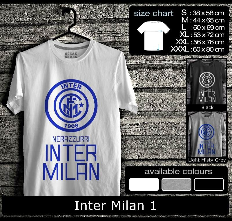 Kaos Inter Milan FootBall Club Kaos Internisti 2 Lucu