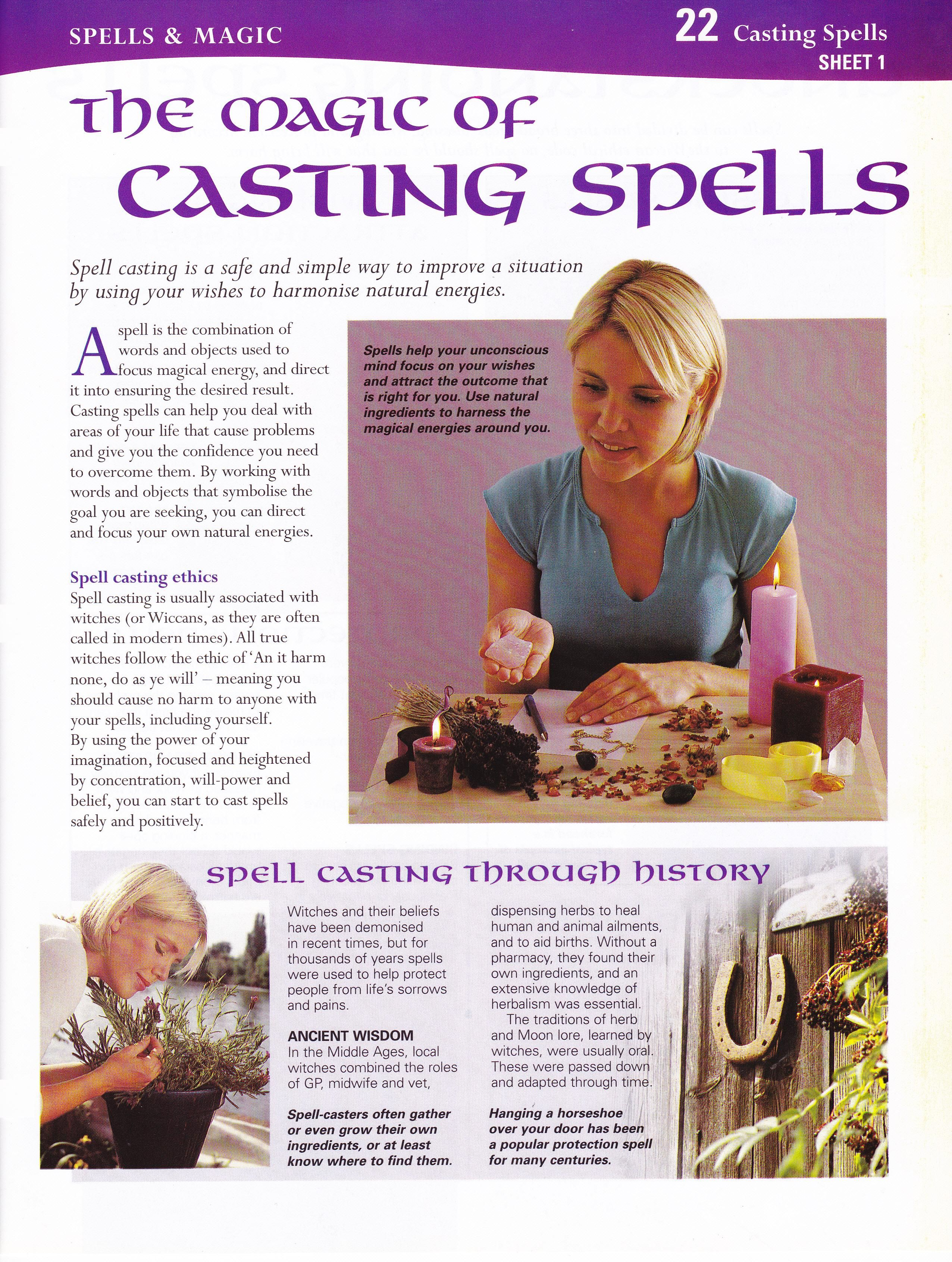Magick Spells: #BOS The Magic of Casting #Spells  | wicca | Wicca