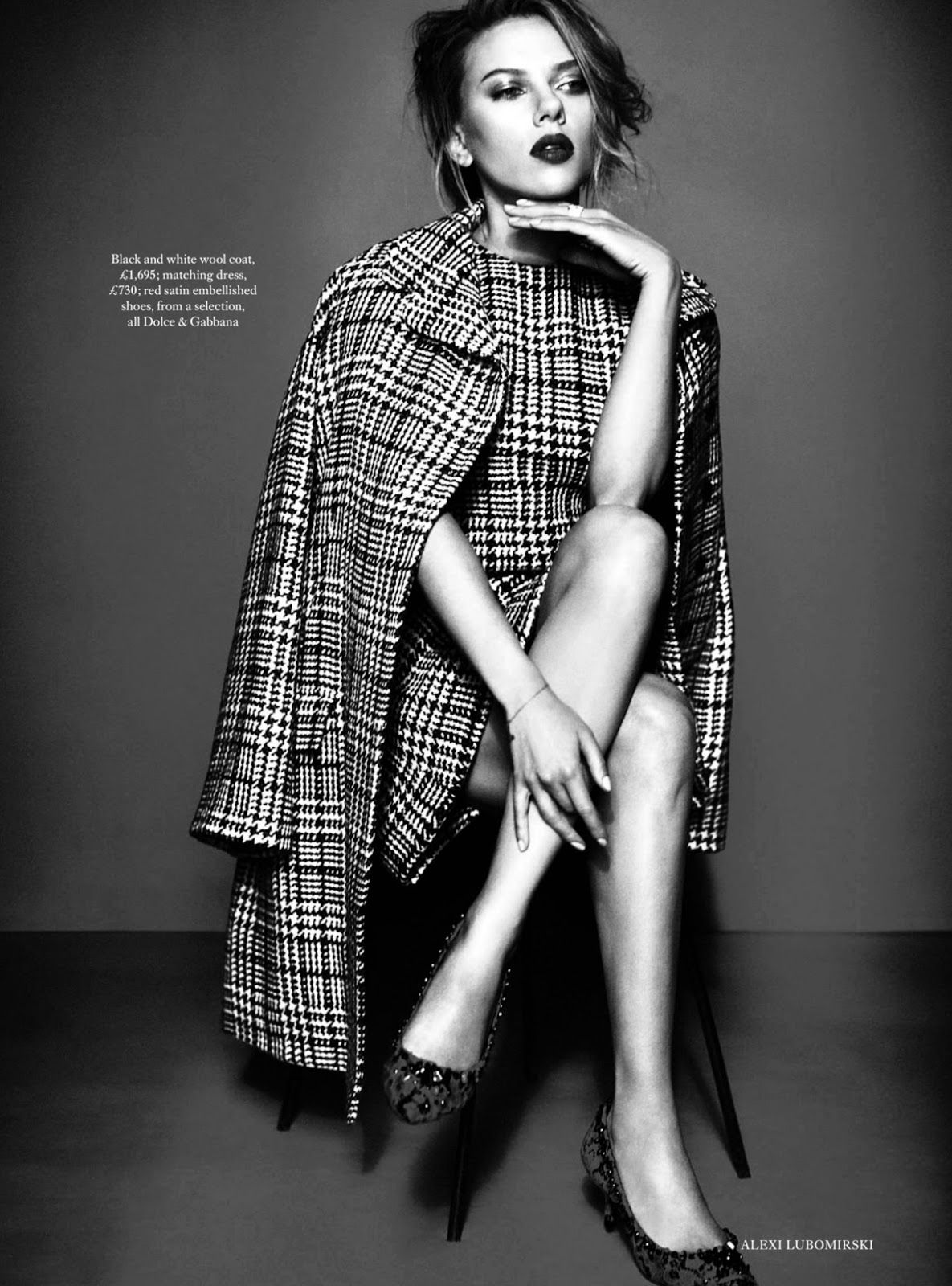 Scarlett Johansson for Harper's Bazaar UK October 2013. #editorial #fashion #photography