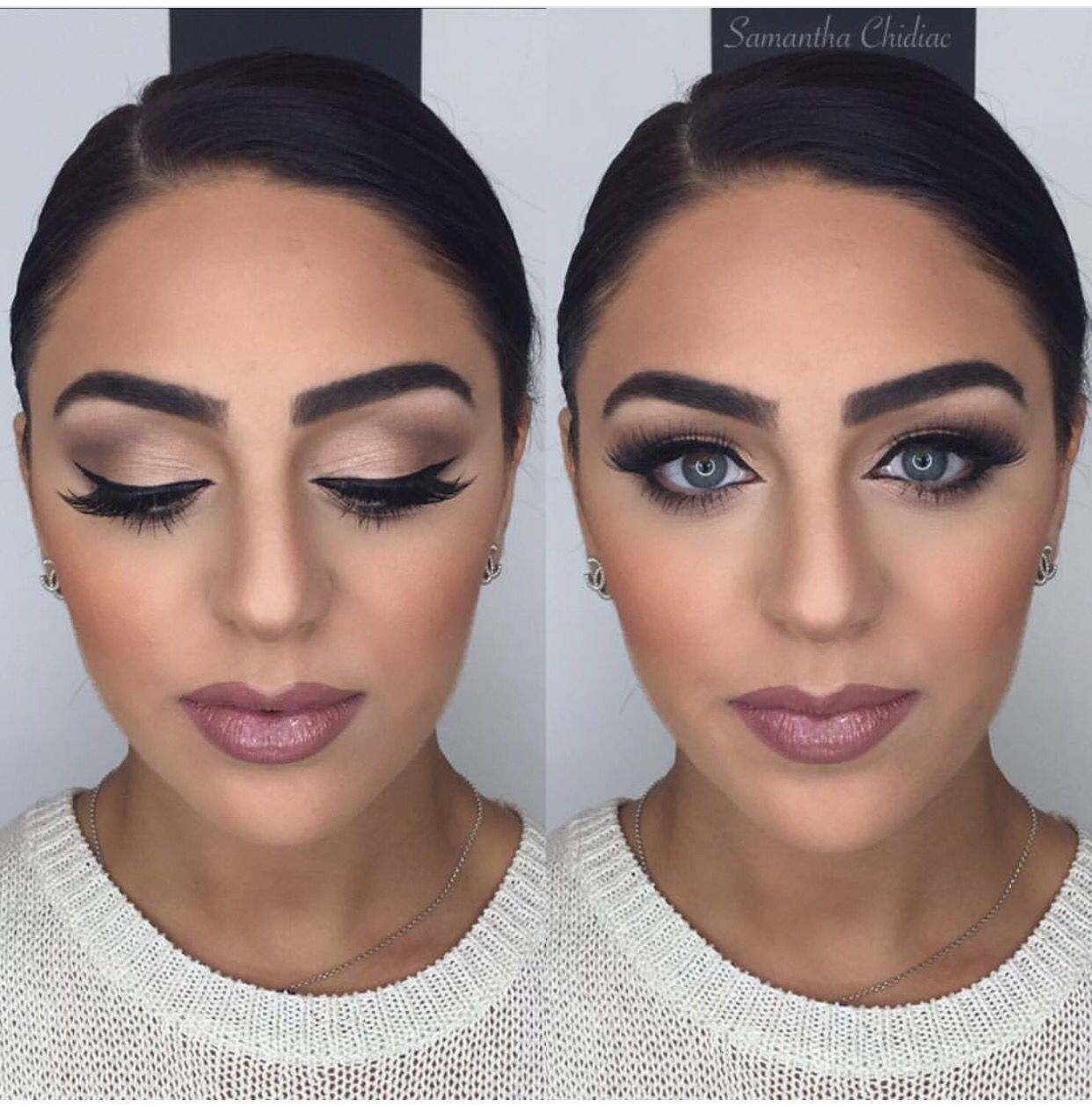 We Love This Look At Top Level Salon For Brides Makeup Trial Toplevelsalon Fb Ig Wedding Hair And Makeup Bridesmaid Makeup Makeup Trial