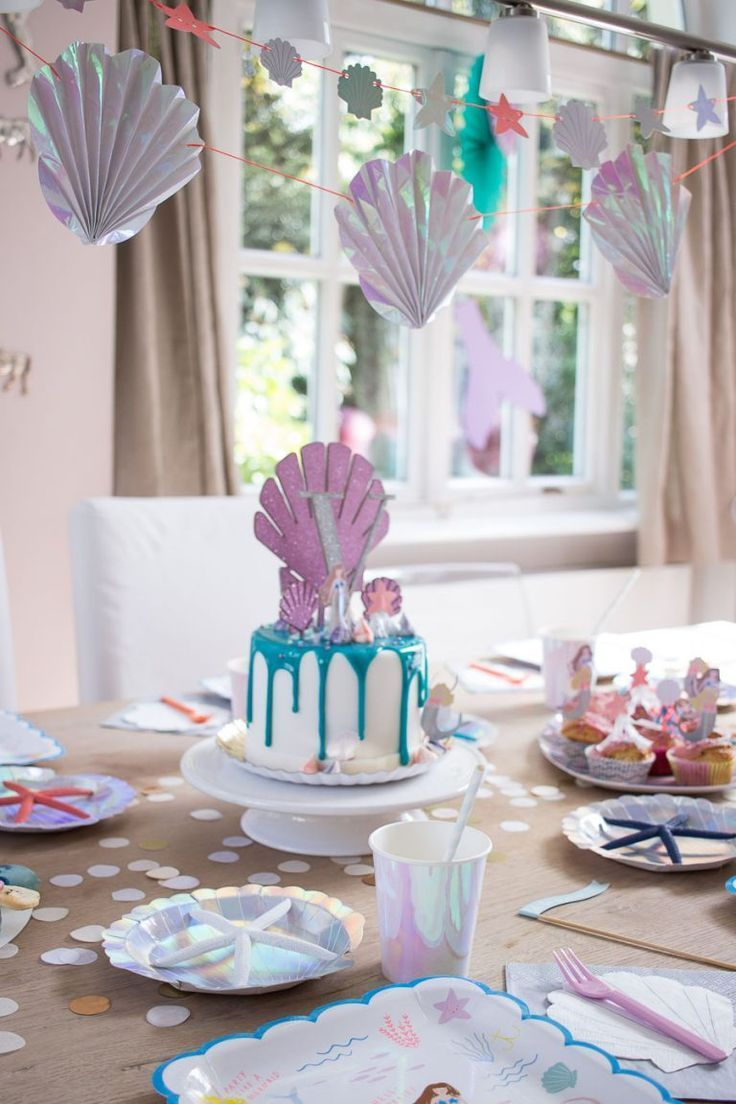 Photo of Mermaid Party – Decoration, Cake, Games – Mother's Finest