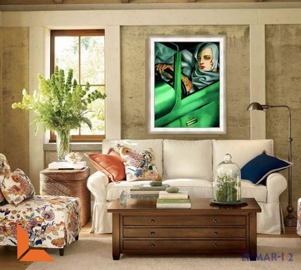 Sal N Con Cuadro De Tamara De Lempicka Ambientes Pinterest  # Muebles Requejo