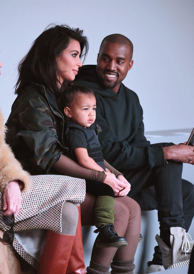 Kanye West And Kim Kardashian Are Crowdsourcing Baby Names Kanye West And Kim Kim Kardashian And North Kanye West Adidas