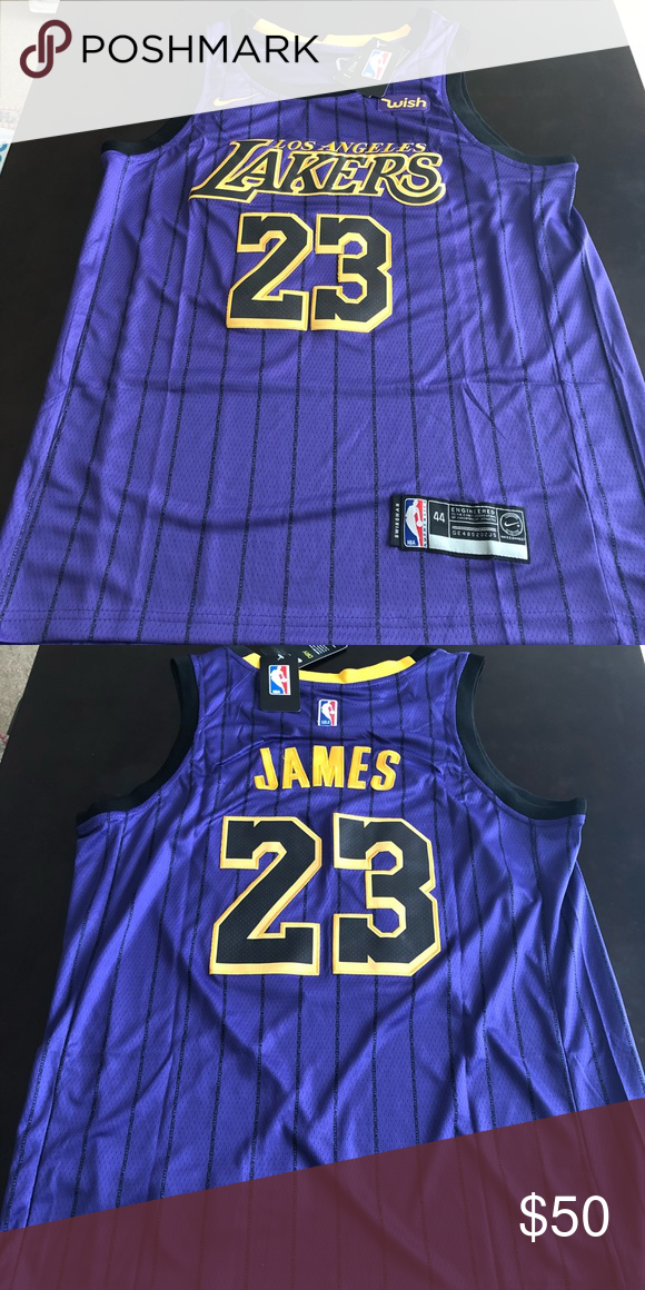 get cheap 10078 f2f03 Lebron James Lakers City Jersey New City Edition Lebron ...