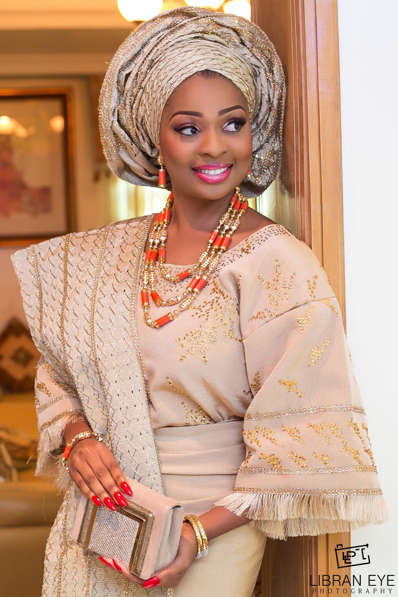 pretty perfect traditional nigerian brides wedding pinterest