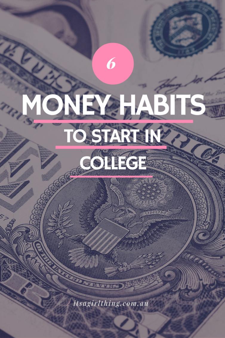 College Money Habits