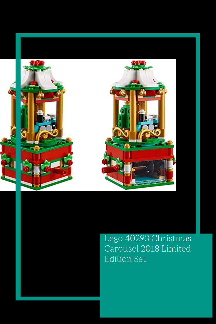 LEGO Christmas Carousel Set 40293 Limited Edition Holiday Seasonal NEW